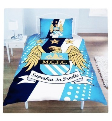 Manchester City Football Club Duvet Set