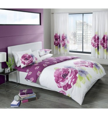 Grace Floral Duvet Set