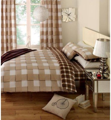 Gingham Check Duvet Set